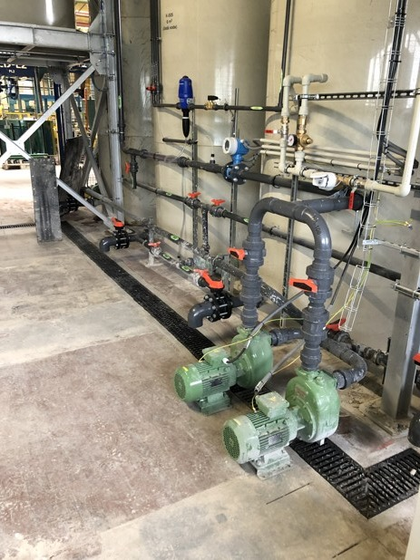 AGC - glass grinding wastewater solution